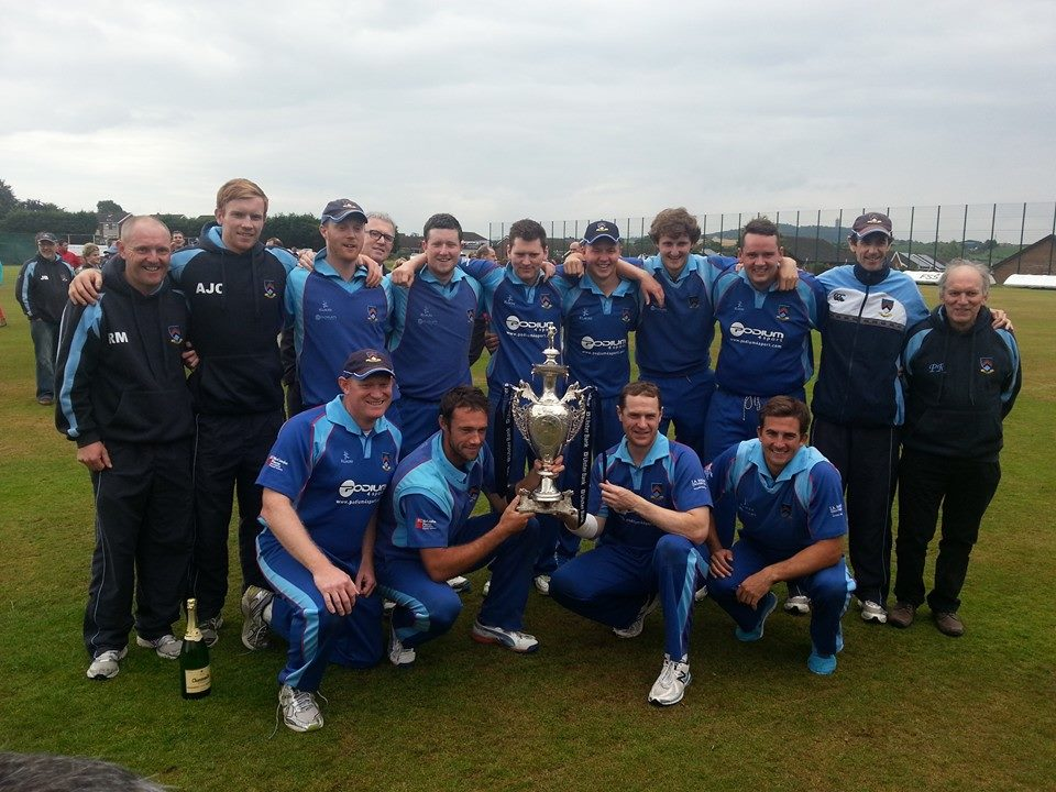 CSNI Challenge Cup Winners 2014 © Trevor Dalzell
