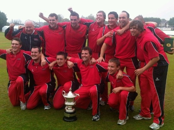 Waringstown CC - Winners Bob Kerr Irish Senior Cup 2011