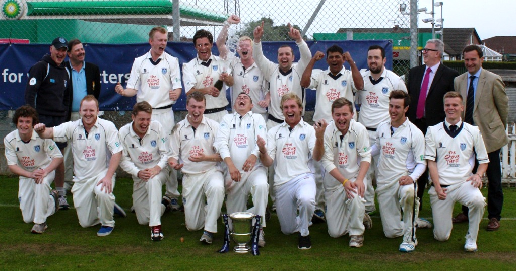 NCU Section 1 Winners 2014 - Carrickfergus (© Ian Johnston / CricketEurope)