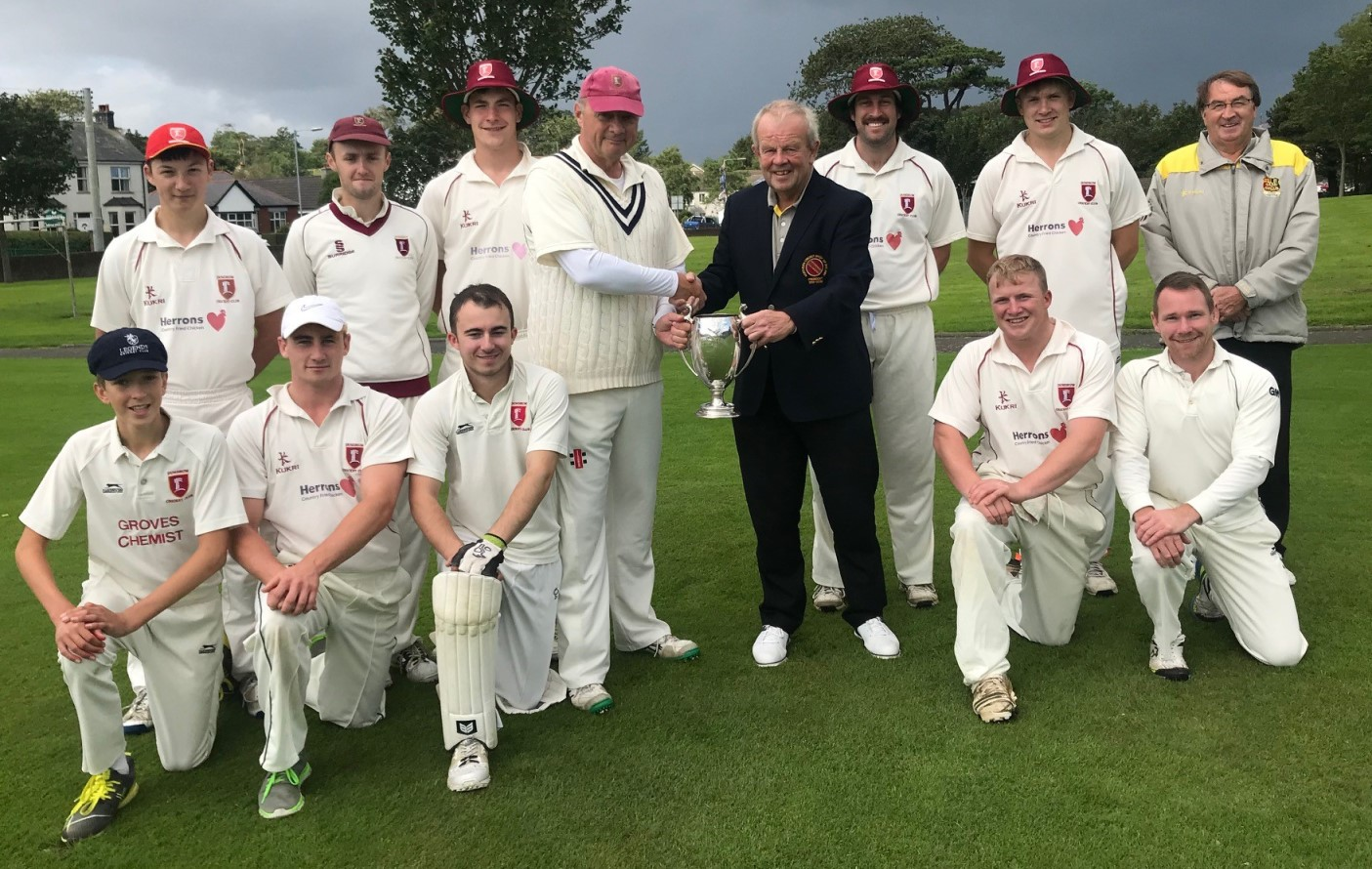 Robinson Services Section 3 League Winners 2019 - Dundrum CC
