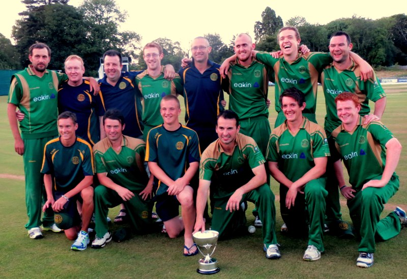 North Down T20 Cup Winners 2013