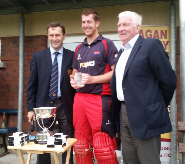Lagan Valley Steels Twenty20 Cup 2016 MoM - Greg Thompson