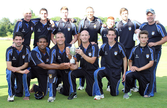 Ulster Cup Winners 2013 - Coleraine CC