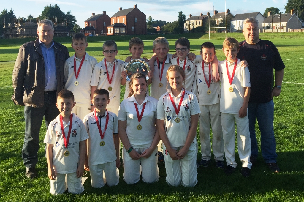 Under 11 League - Division 2 Winners 2017 - Donacloney Mill
