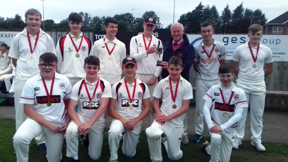 Under 15 League Div 2 Final Winners - Templepatrick