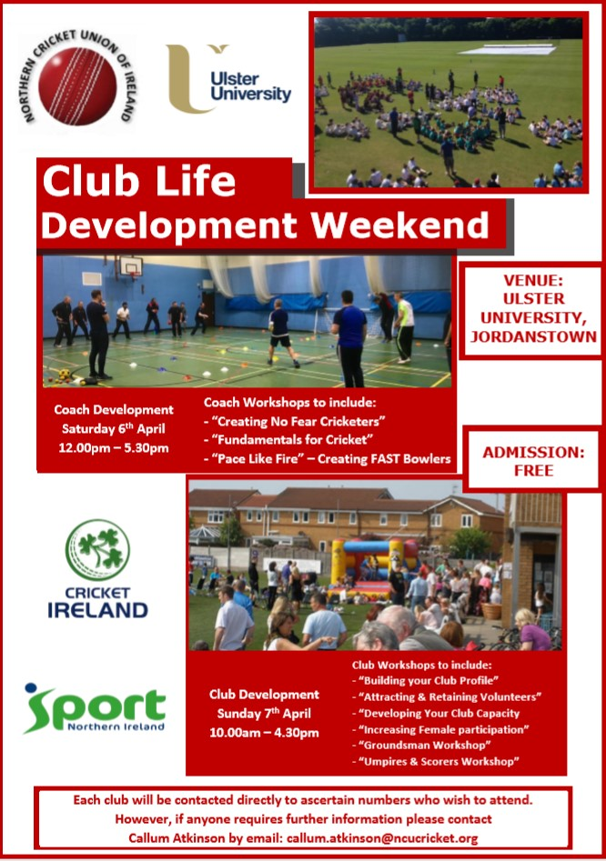 Club Life Development Weekend