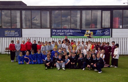 Lurgan Tigers Kwik Cricket Blitz - Group Picture
