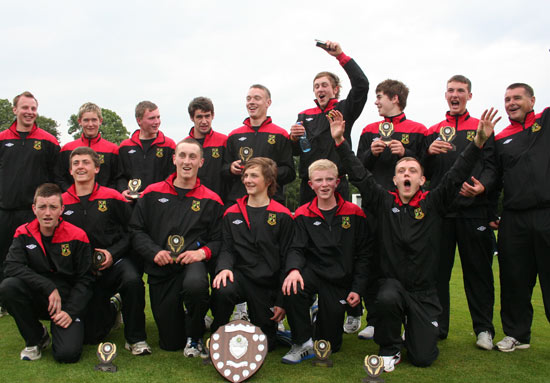 North West Under 15s - Winners of the 2012 Interprovincial Series (© www.cricketeurope.com)