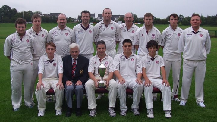 Templepatrick CC - Joint Winners of Ulster Bank League Section 2 2011