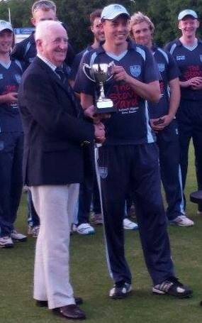 T20 Trophy Winners 2014 - Iain Parkhill and Billy Boyd