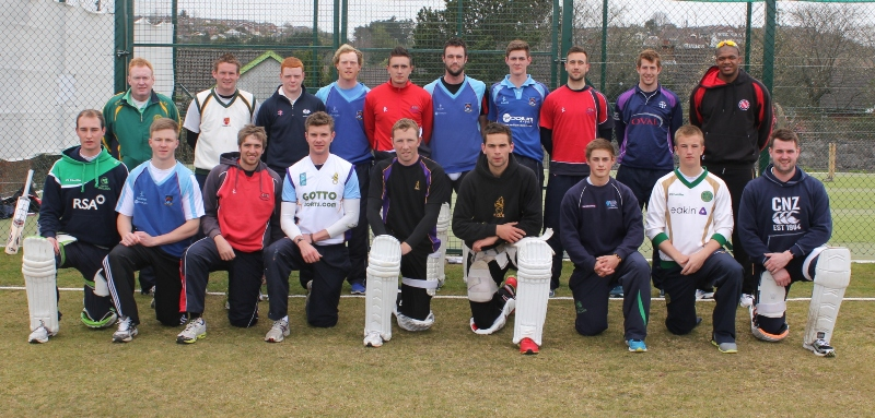 The extended Northern Knights squad before selection for their first match on the 6th May