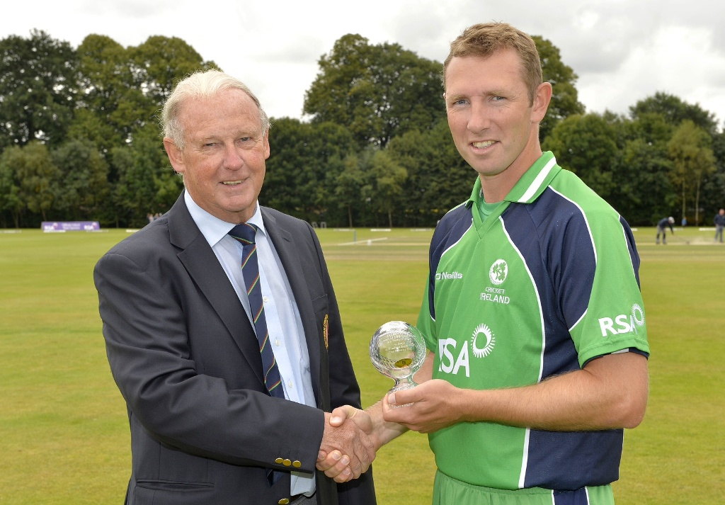 Andrew White and Brian Walsh - 200 caps for Ireland