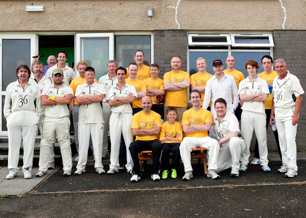 Donaghadee Cricket Club and Belfast Telegraph Select XI