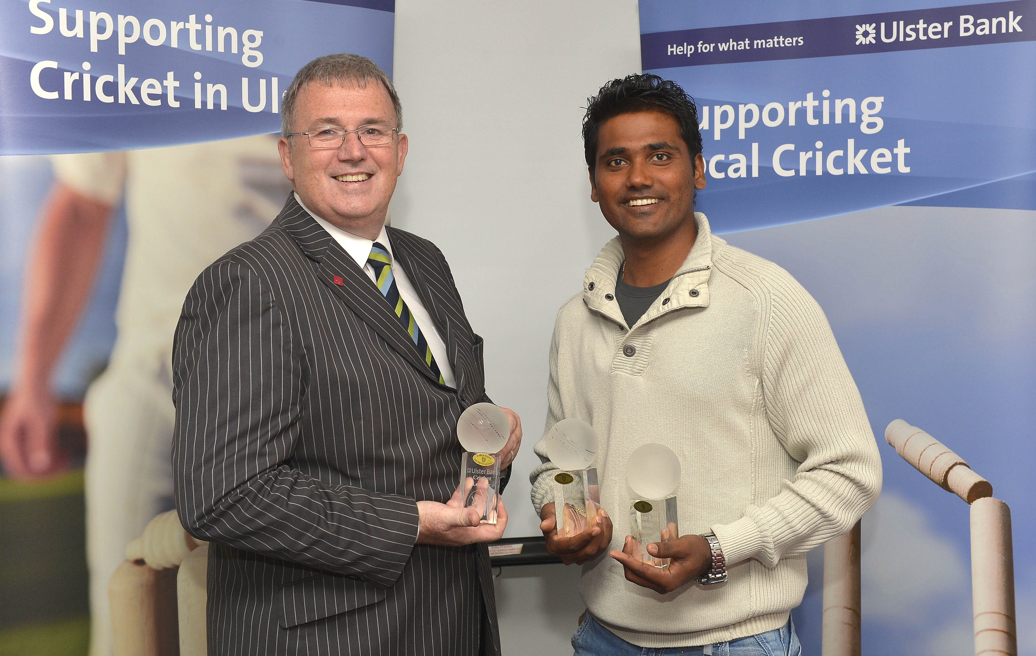 Ulster Bank Cricket Awards - Yogesh Takawale