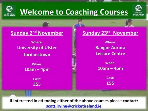 Welcome to Coaching Courses